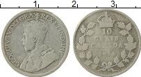 Изображение Монеты Канада 10 центов 1914 Серебро VF Георг V