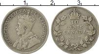 Изображение Монеты Канада 10 центов 1917 Серебро VF Георг V