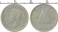 Изображение Монеты Канада 10 центов 1942 Серебро VF