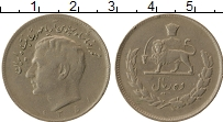 Изображение Монеты Иран 10 риалов 1972 Медно-никель XF-