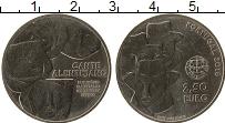 Изображение Монеты Португалия 2 1/2 евро 2016 Медно-никель UNC Алентежанское пение