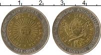 Продать Монеты Аргентина 1 песо 2009 Биметалл