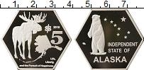 Изображение Монеты США 5 долларов 2019 Посеребрение Proof