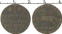 Изображение Монеты Германия Брауншвайг-Люнебург-Кале 1 пфенниг 1823 Медь VF+