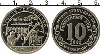 Продать Монеты Шпицберген 10 разменный знак 2002 Медно-никель