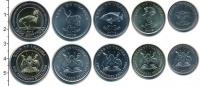 Изображение Наборы монет Уганда Уганда 2012-2015 0  UNC-