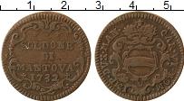 Продать Монеты Мантуя 2 сольди 1732 Медь