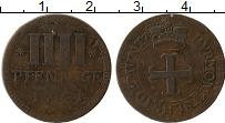 Изображение Монеты Германия Вальдек-Пирмонт 4 пфеннига 1761 Медь VF