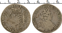 Изображение Монеты Саксония 1/3 талера 1691 Серебро VF Иоганн Георг III