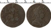 Изображение Монеты Великобритания 1/2 пенни 1773 Медь VF Георг III