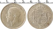 Изображение Монеты Великобритания 1/2 кроны 1916 Серебро XF+