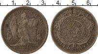 Изображение Монеты Гондурас 50 сентаво 1884 Серебро XF-