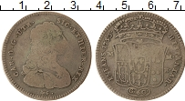 Изображение Монеты Неаполь 60 гран 1753 Серебро VF Карл