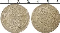 Изображение Монеты Йемен 1/2 риала 1959 Серебро XF