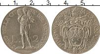 Изображение Монеты Ватикан 2 лиры 1937 Медно-никель XF