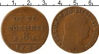 Изображение Монеты Неаполь 8 торнеси 1797 Медь VF Фердинанд IV