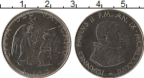 Изображение Монеты Ватикан 100 лир 1987 Сталь UNC