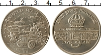 Изображение Монеты Хатт-Ривер 5 долларов 1992 Медно-никель UNC