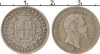 Изображение Монеты Италия Флоренция 50 сентесим 1860 Серебро XF-