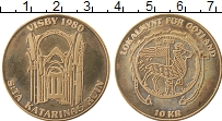 Изображение Монеты Швеция 10 крон 1980 Медь UNC- Городские деньги