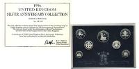 Изображение Подарочные монеты Великобритания Серебряный набор 1996 1996 Серебро Proof-