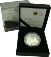 Изображение Подарочные монеты Олдерни 5 фунтов 2012 Серебро Proof