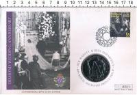 Изображение Подарочные монеты Гернси 5 фунтов 2007 Медно-никель UNC