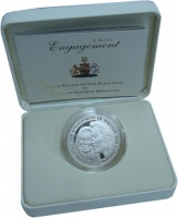 Изображение Подарочные монеты Олдерни 5 фунтов 2010 Серебро Proof- Монета номиналом 5 ф
