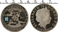 Изображение Монеты Великобритания 5 фунтов 2009 Медно-никель Proof-