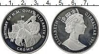 Изображение Монеты Гибралтар 1 крона 1997 Серебро Proof