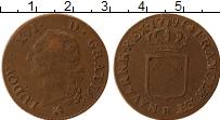 Изображение Монеты Франция 1 соль 1791 Бронза VF