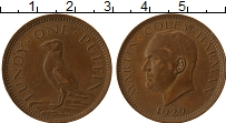 Изображение Монеты Великобритания Лунди 1 паффин 1929 Бронза XF