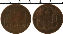 Изображение Монеты Великобритания 1/2 пенни 1792 Бронза VF Ткачи