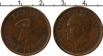 Изображение Монеты Великобритания Лунди 1/2 паффина 1929 Бронза XF