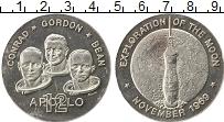 Изображение Монеты Северная Америка США настольная медаль 1969 Серебро XF