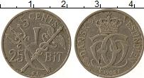 Изображение Монеты Дания Датская Вест-Индия 5 центов 1905 Медно-никель XF-