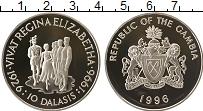 Продать Монеты Гамбия 10 даласи 1996 Серебро