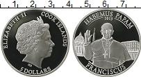 Изображение Монеты Острова Кука 5 долларов 2013 Серебро Proof Елизавета II.  Понти