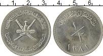 Продать Монеты Оман 1/2 риала 1980 Серебро
