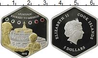 Изображение Монеты Острова Кука 5 долларов 2012 Серебро Proof-