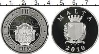 Продать Монеты Мальта 10 евро 2010 Серебро