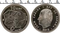 Изображение Монеты Испания 10 евро 2012 Серебро Proof