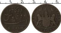Изображение Монеты Индия 10 кэш 1808 Медь VF Восточно Индийская к