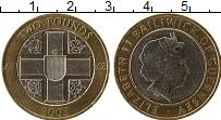 Изображение Монеты Гернси 2 фунта 2003 Биметалл UNC- Елизавета II