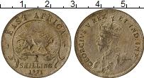 Продать Монеты Восточная Африка 1 шиллинг 1921 Серебро