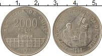 Изображение Монеты Чили 2000 песо 1993 Серебро UNC-