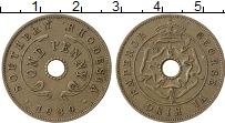 Изображение Монеты Родезия 1 пенни 1939 Медно-никель XF Георг VI. Южная Роде