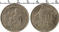 Изображение Монеты Свазиленд 1 лилангени 1975 Медно-никель XF