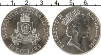 Изображение Монеты Австралия 10 долларов 1986 Серебро UNC Южная Австралия