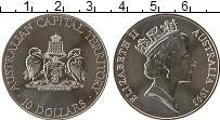 Изображение Монеты Австралия 10 долларов 1993 Серебро UNC Елизавета II